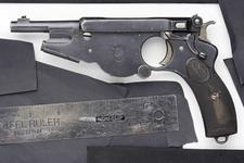 Thumbnail image of Centrefire self-loading pistol - Bergmann Model 1896 No.2