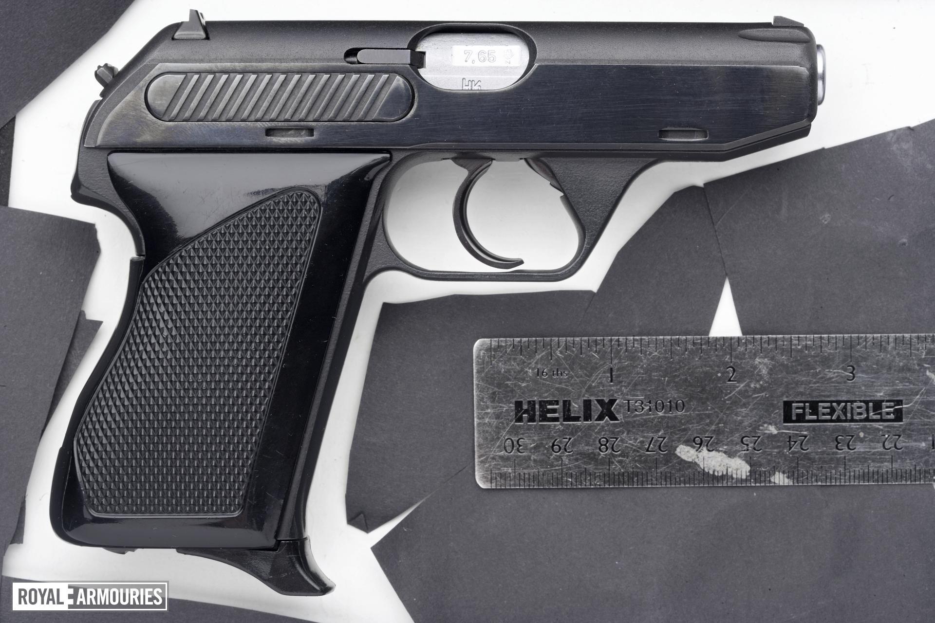 Centrefire self-loading pistol - Heckler and Koch Hk4