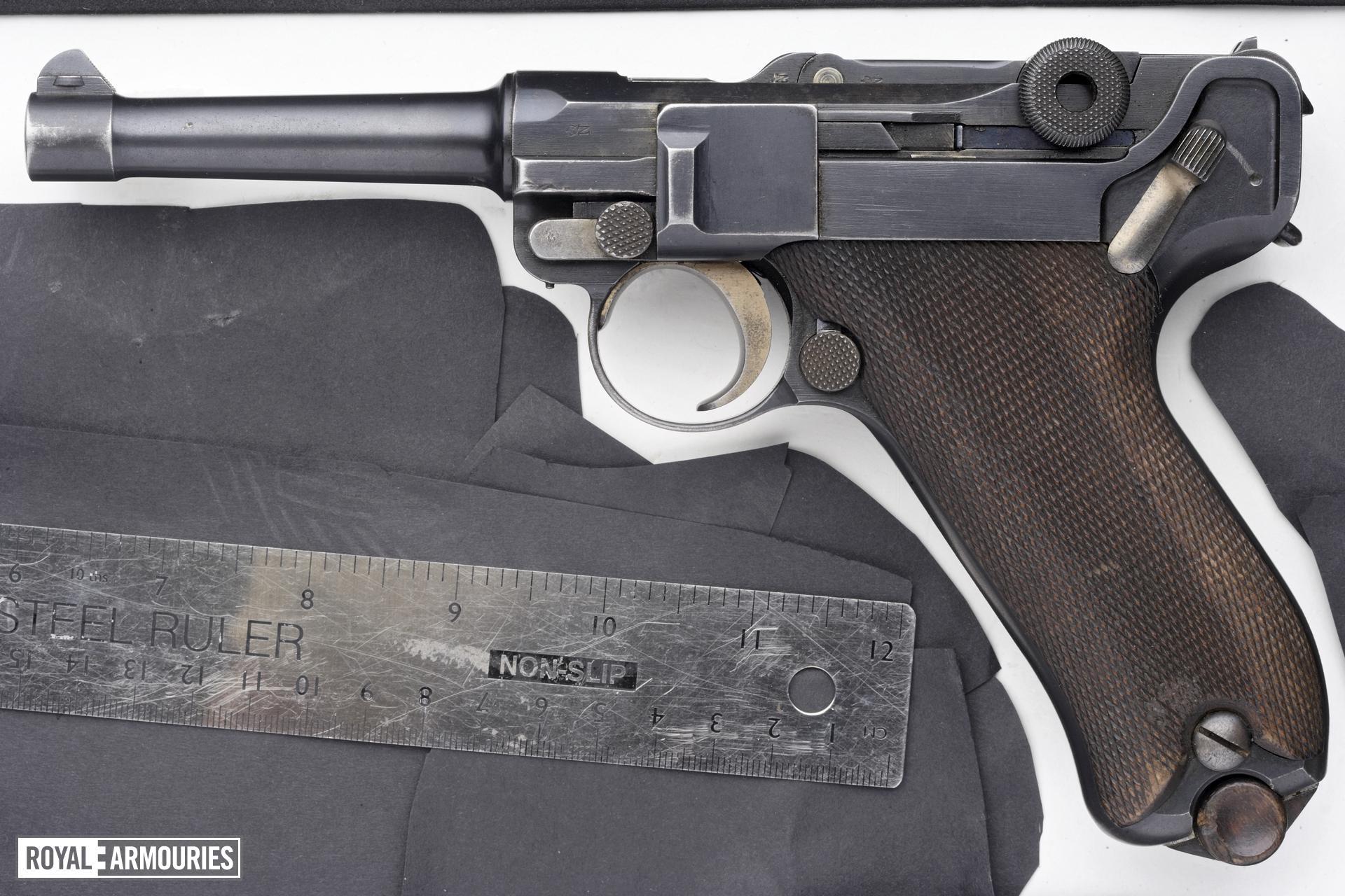 Centrefire self-loading pistol - Luger Model 1908, Commercial