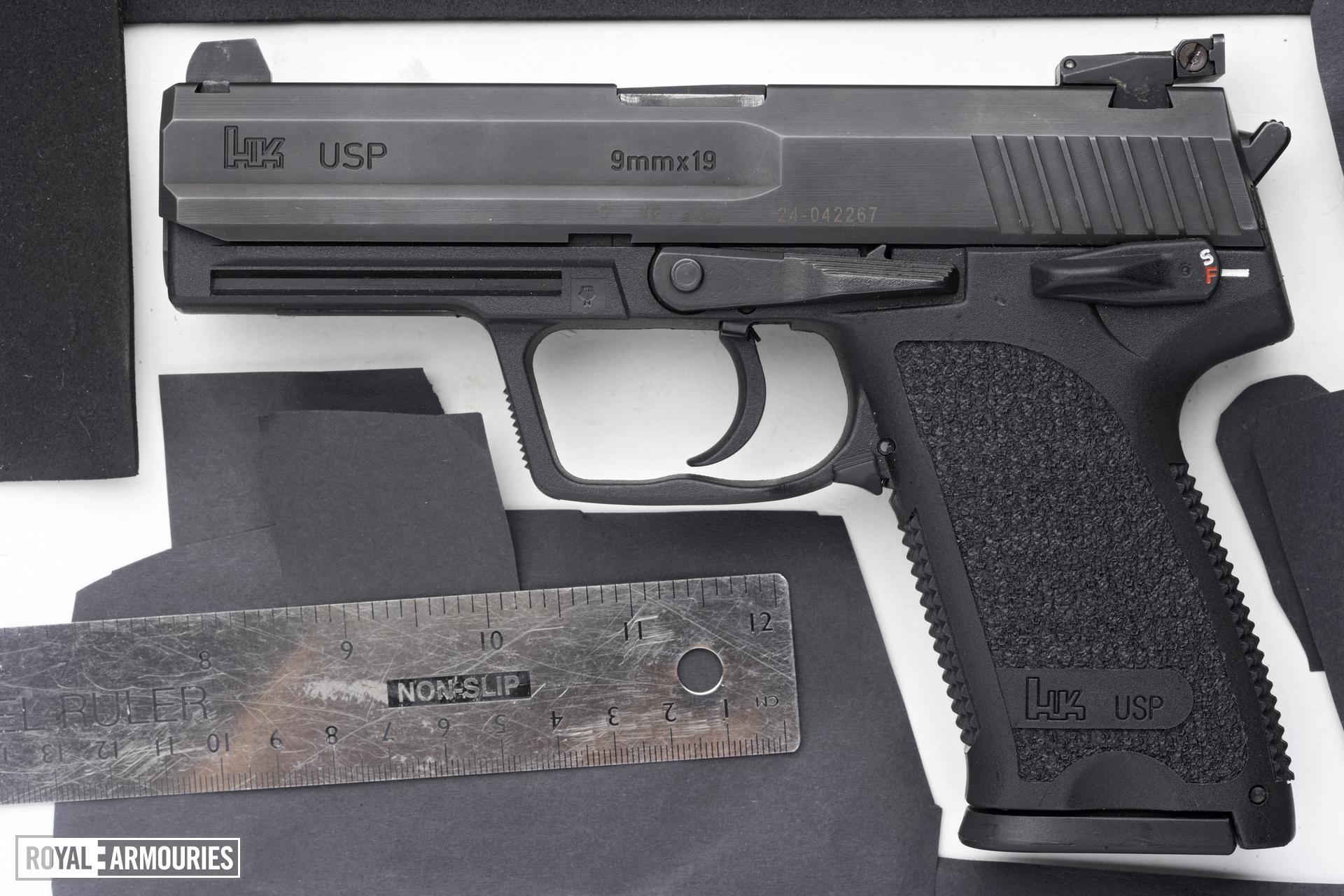 Centrefire self-loading pistol - Heckler and Koch USP