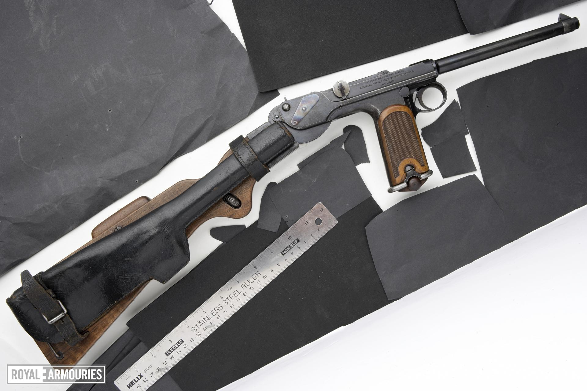 Centrefire self-loading pistol - Borchardt Model 1893