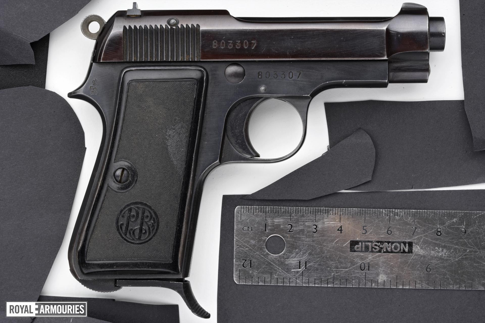 Centrefire self-loading pistol - Beretta Model 1934