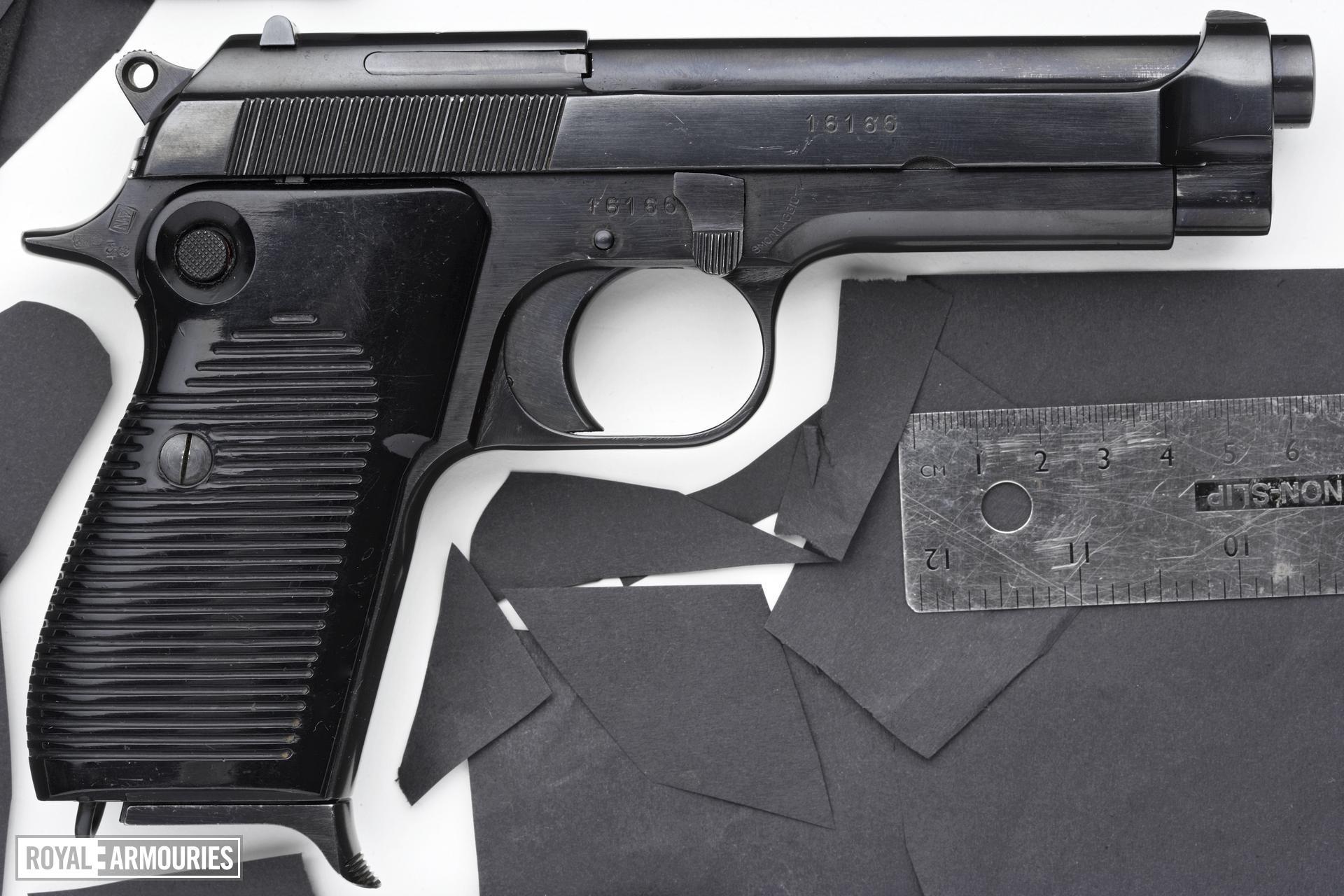 Centrefire self-loading pistol - Beretta Model 1951, Brigadier