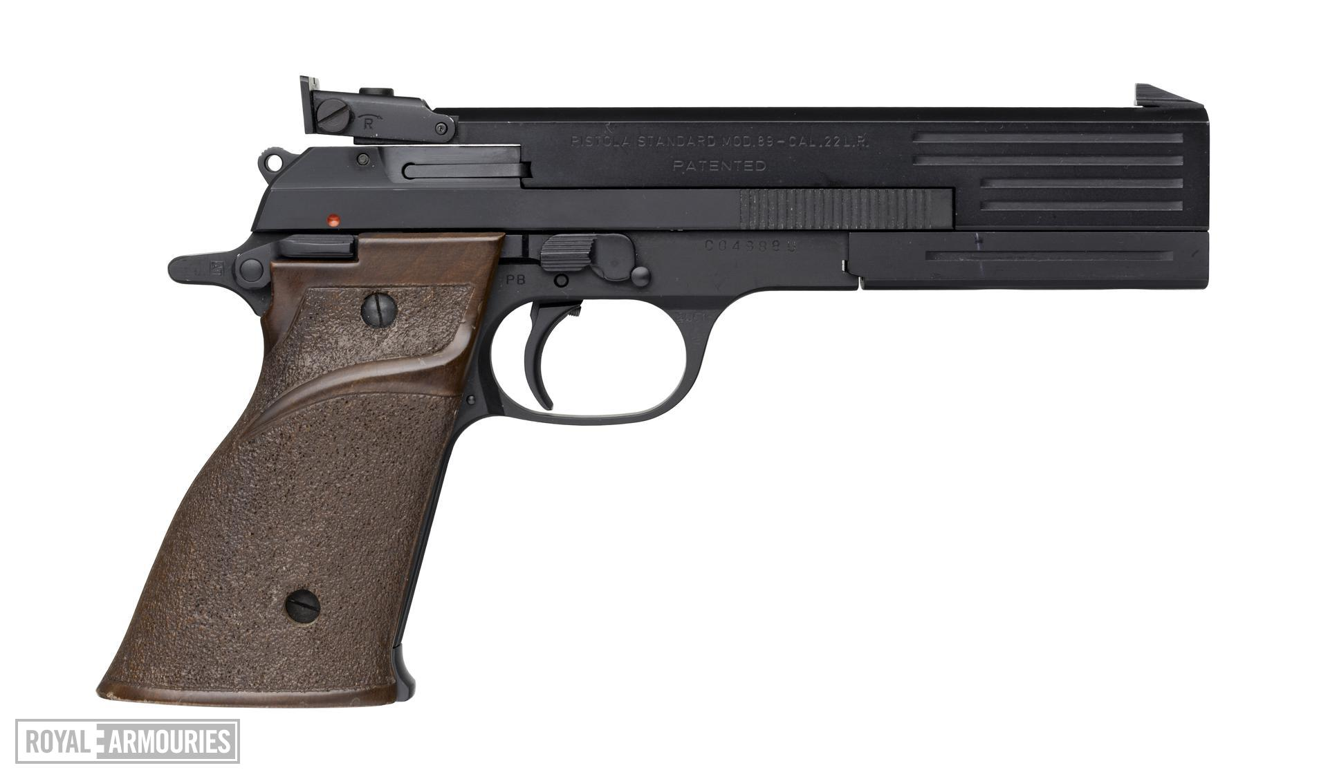 Rimfire self-loading target pistol - Beretta Model 89, Target