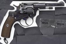 Thumbnail image of Centrefire six-shot revolver - Nagant Model 1893