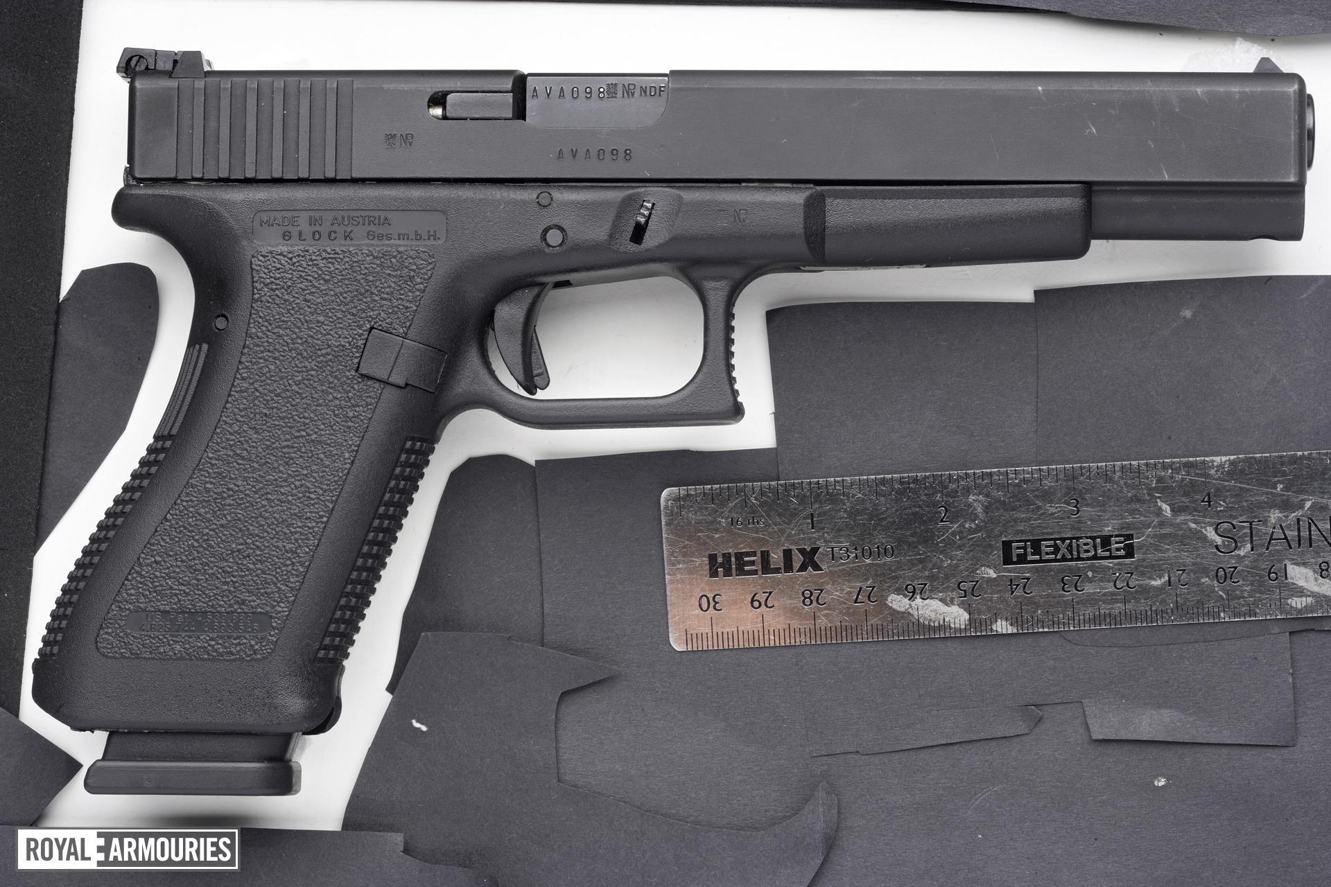 Centrefire self-loading target pistol - Glock 24