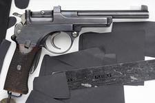 Thumbnail image of Centrefire self-loading pistol - Mannlicher Model 1900