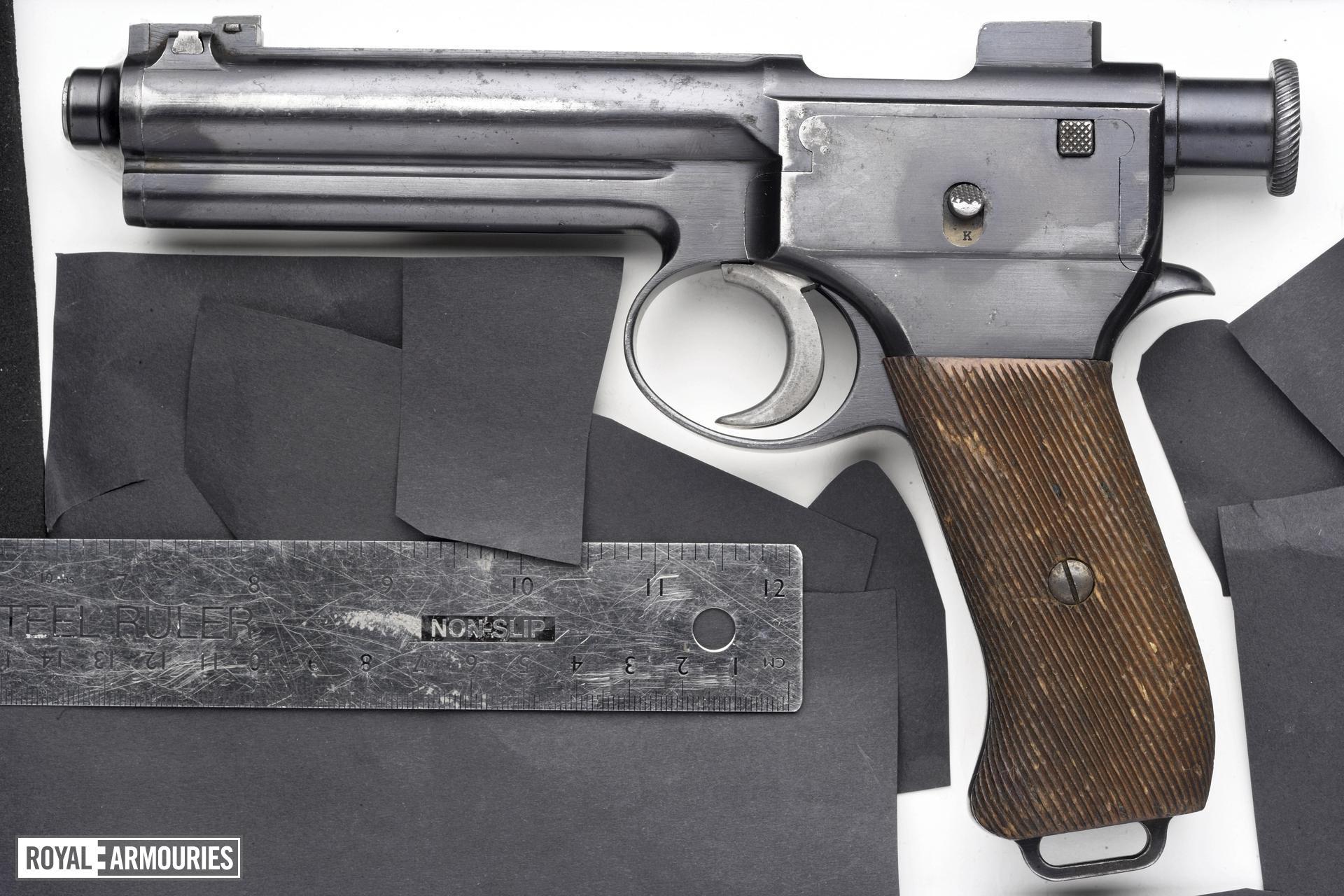 Centrefire self-loading pistol - Roth Steyr Model 1907