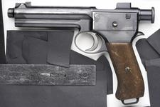Thumbnail image of Centrefire self-loading pistol - Roth Steyr Model 1907