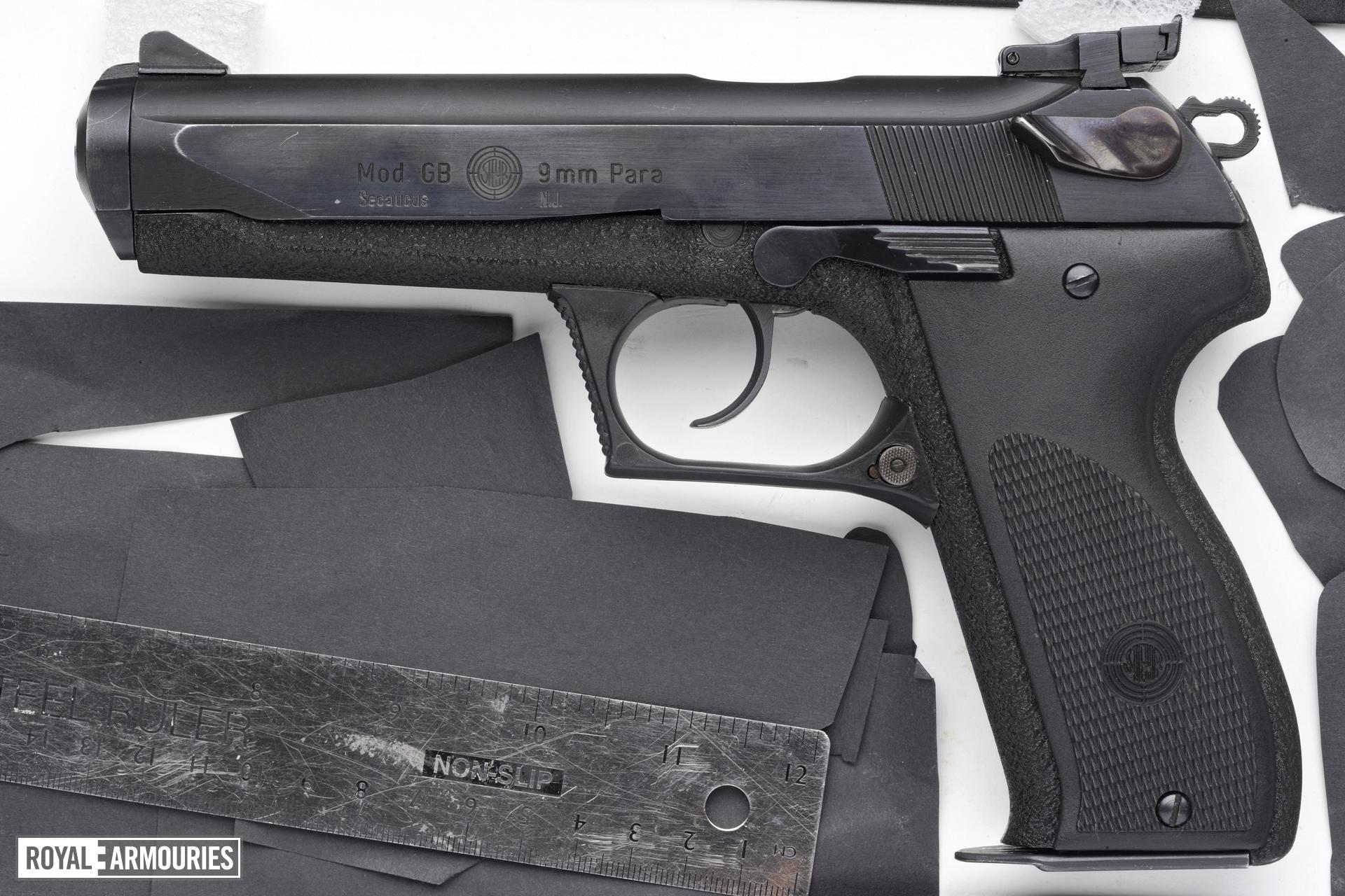 Centrefire self-loading pistol - Steyr Model GB