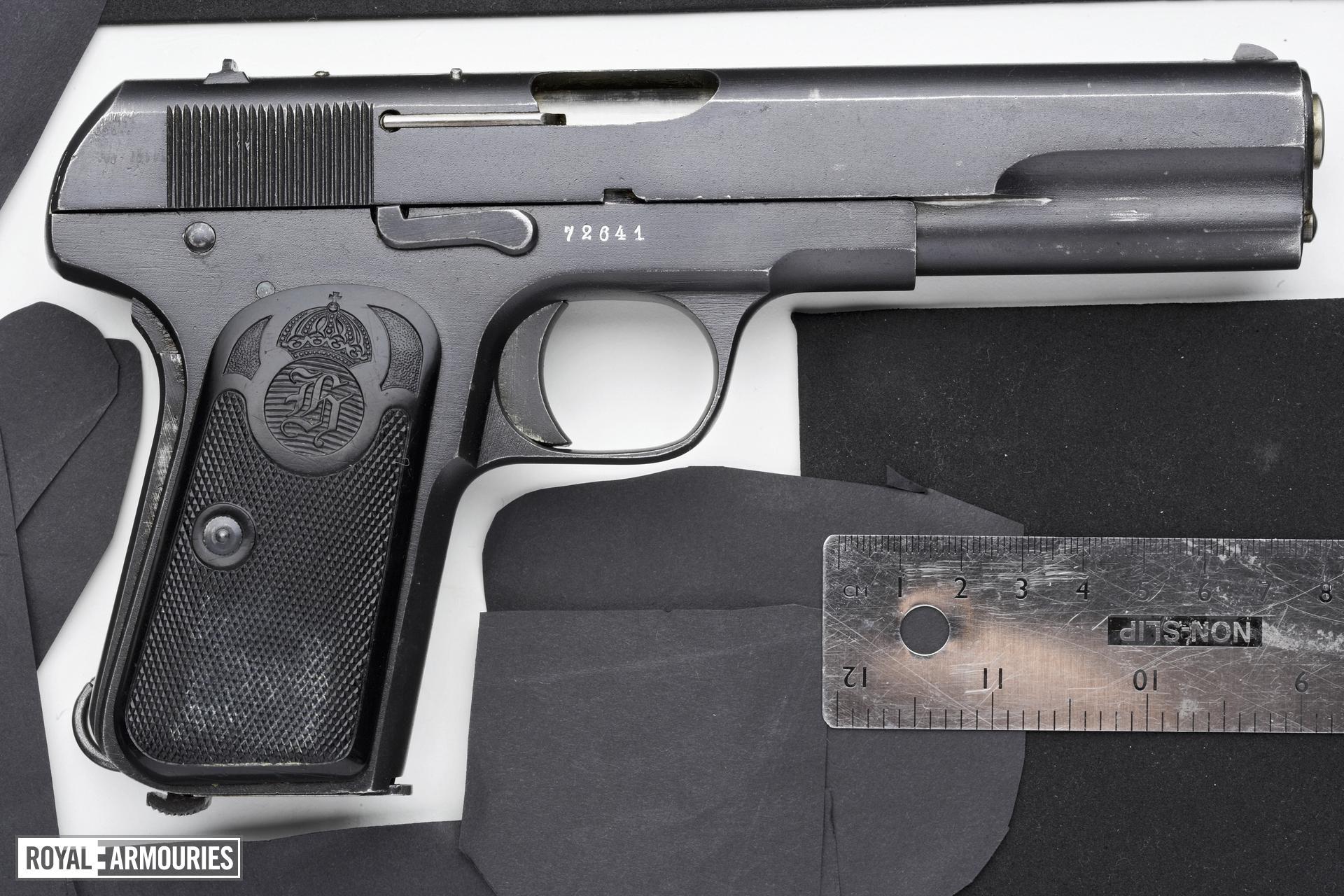 Centrefire self-loading pistol - FN Browning Model 1907