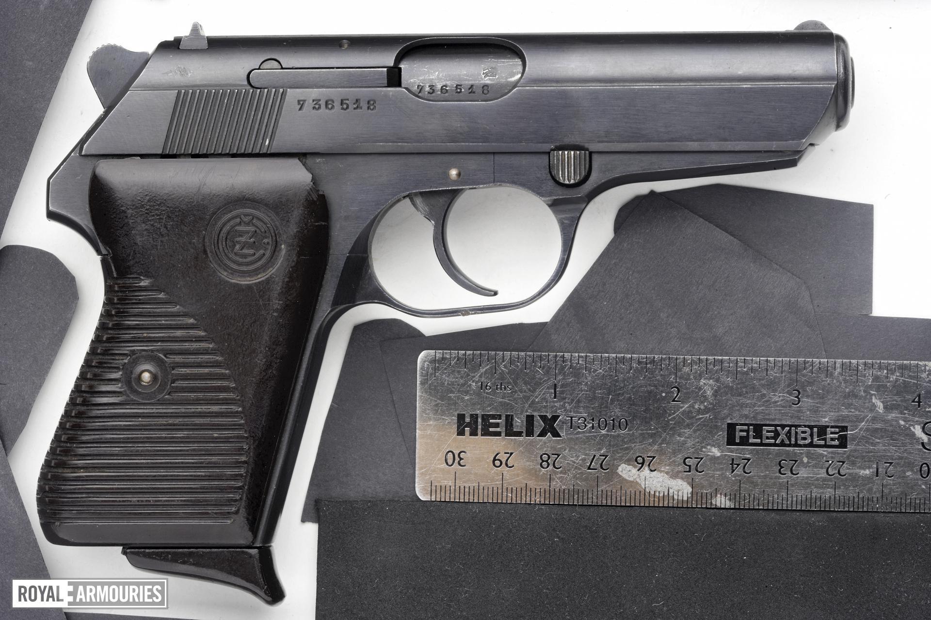 Centrefire self-loading pistol - CZ VZ50