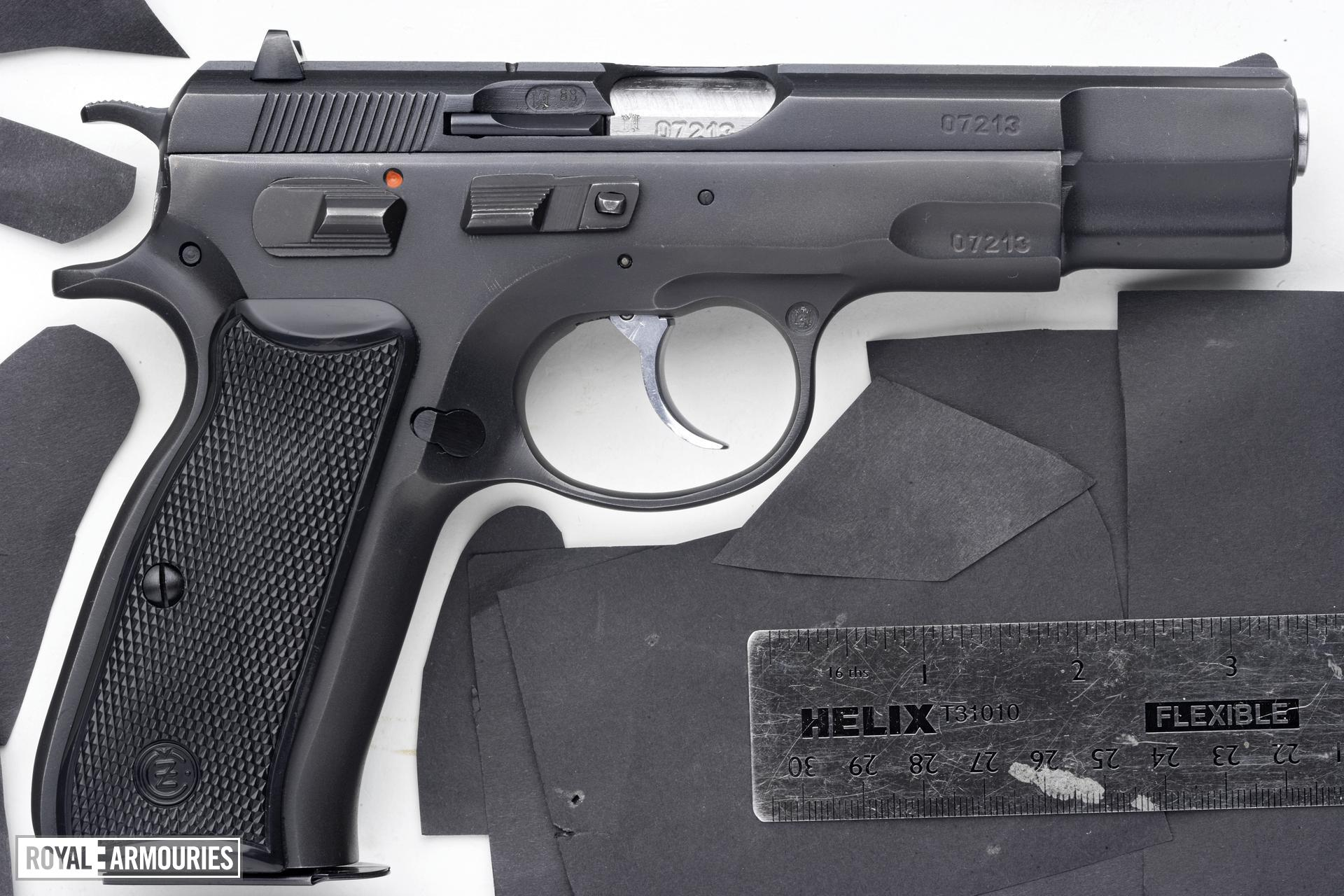Centrefire self-loading pistol - CZ Model 85