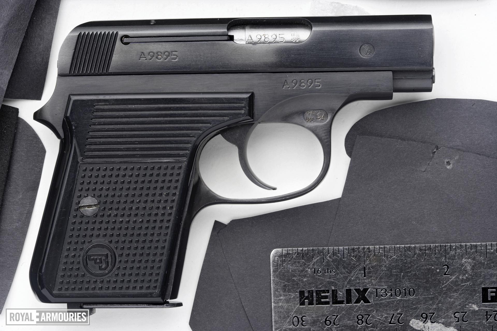 Centrefire self-loading pistol - CZ Model 92