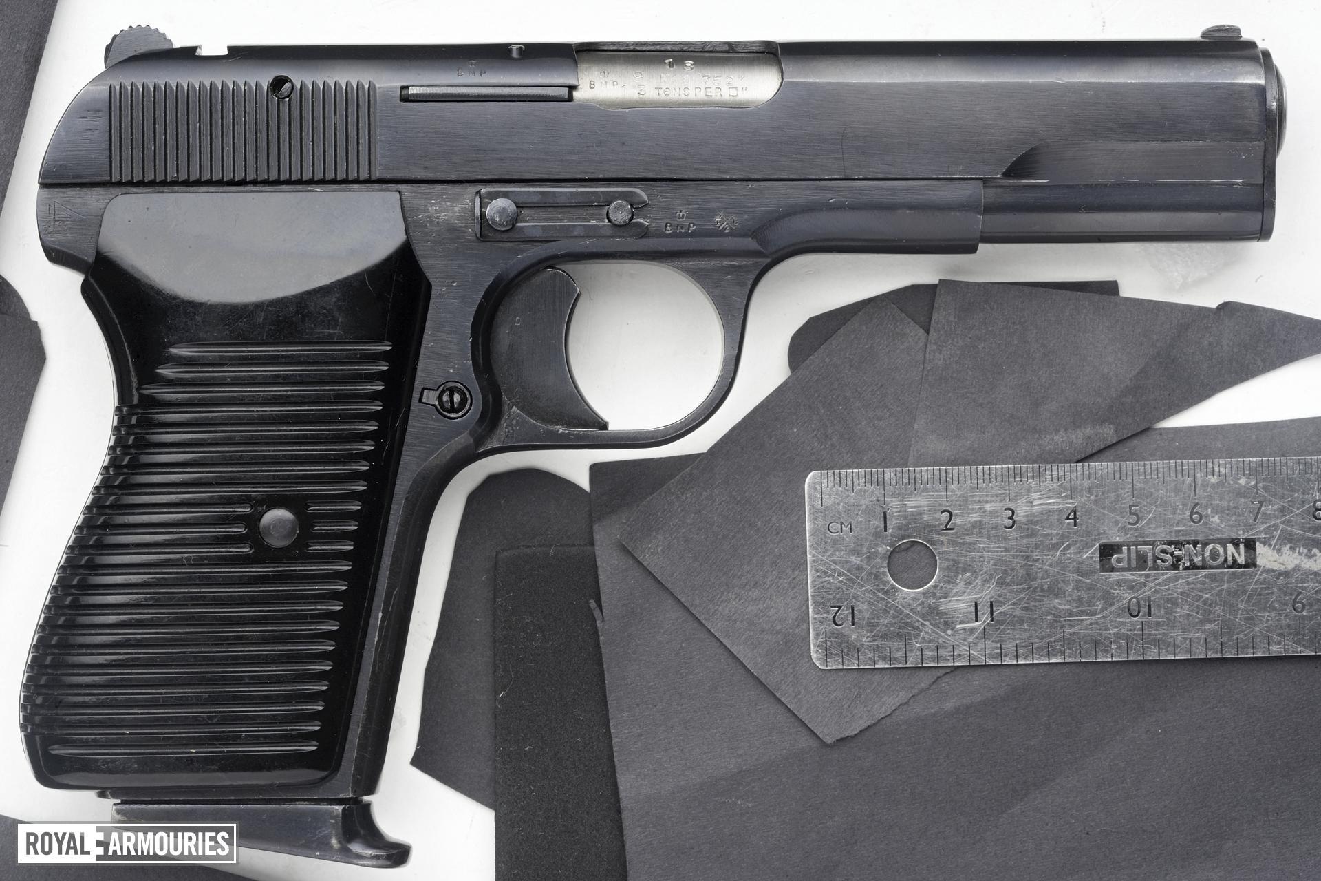Centrefire self-loading pistol - Tokarev Tokagypt