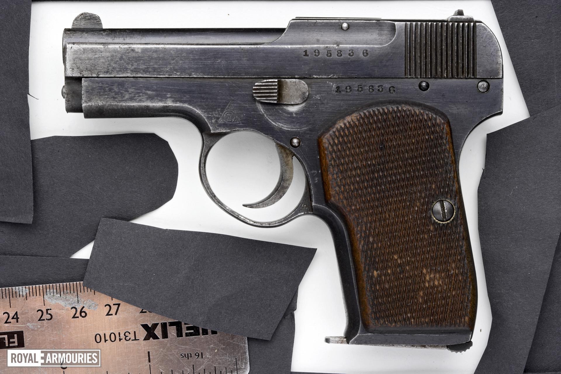 Centrefire self-loading pistol - Korovin