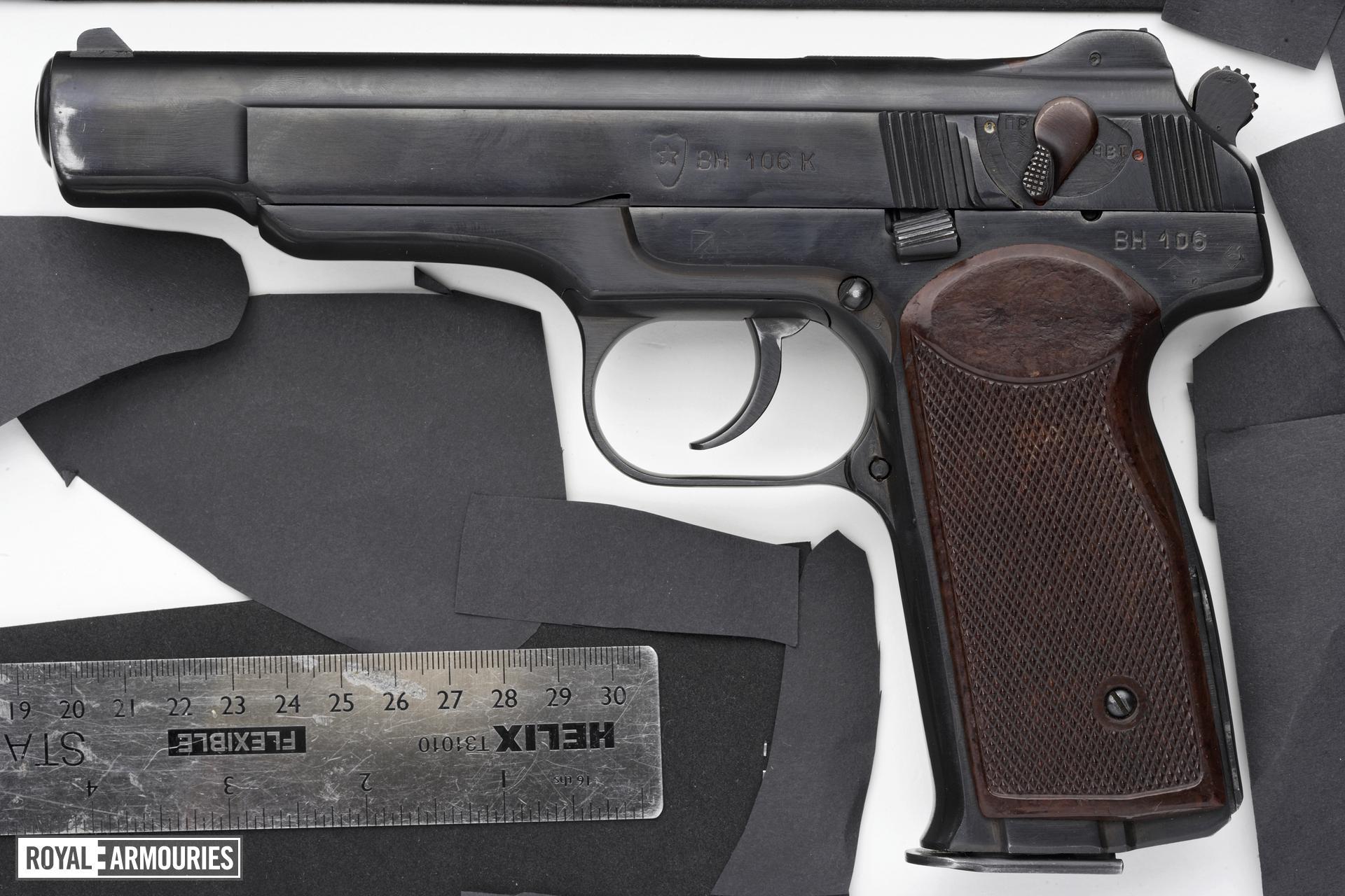 Centrefire automatic pistol - Stechkin APS