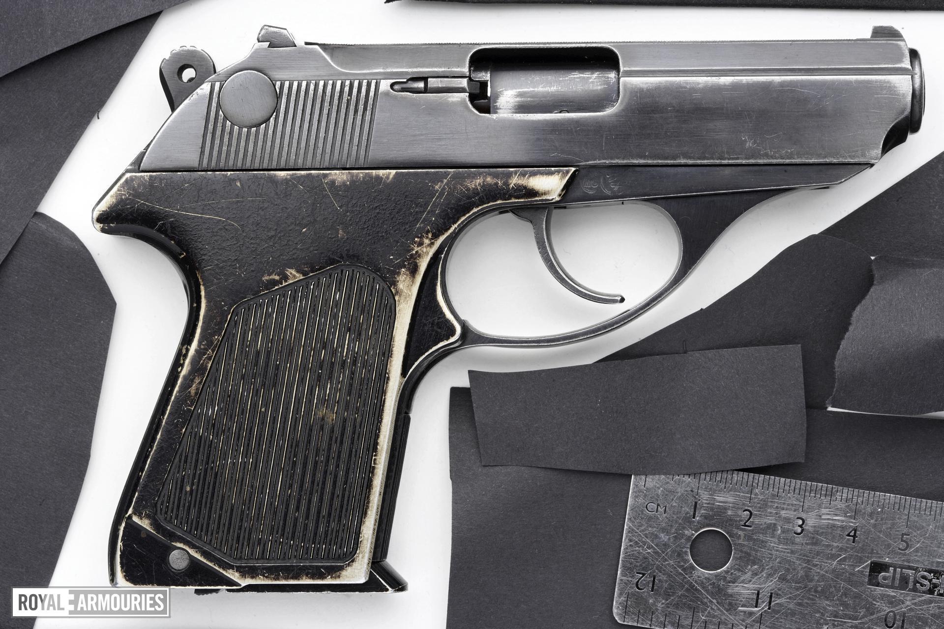 Centrefire self-loading pistol - PSM
