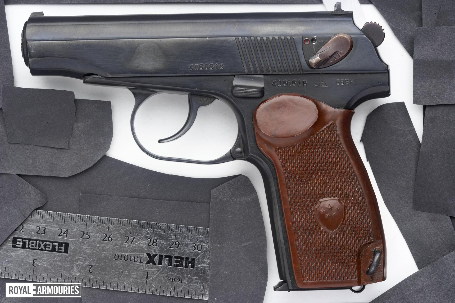 Centrefire self-loading pistol - Makarov Type 59