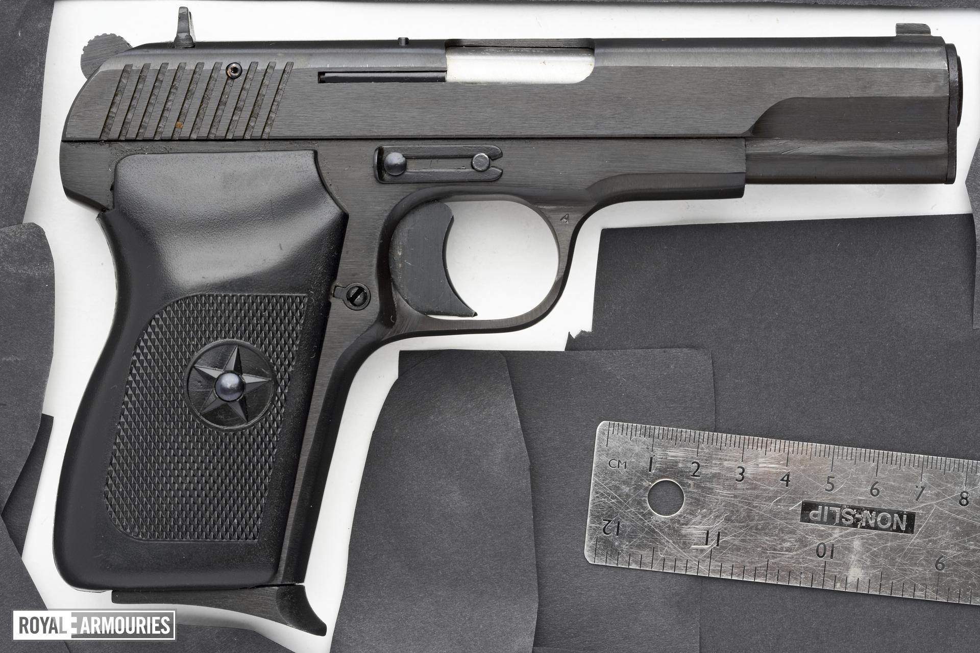 Centrefire self-loading pistol - Norinco Model 213 Tokarev