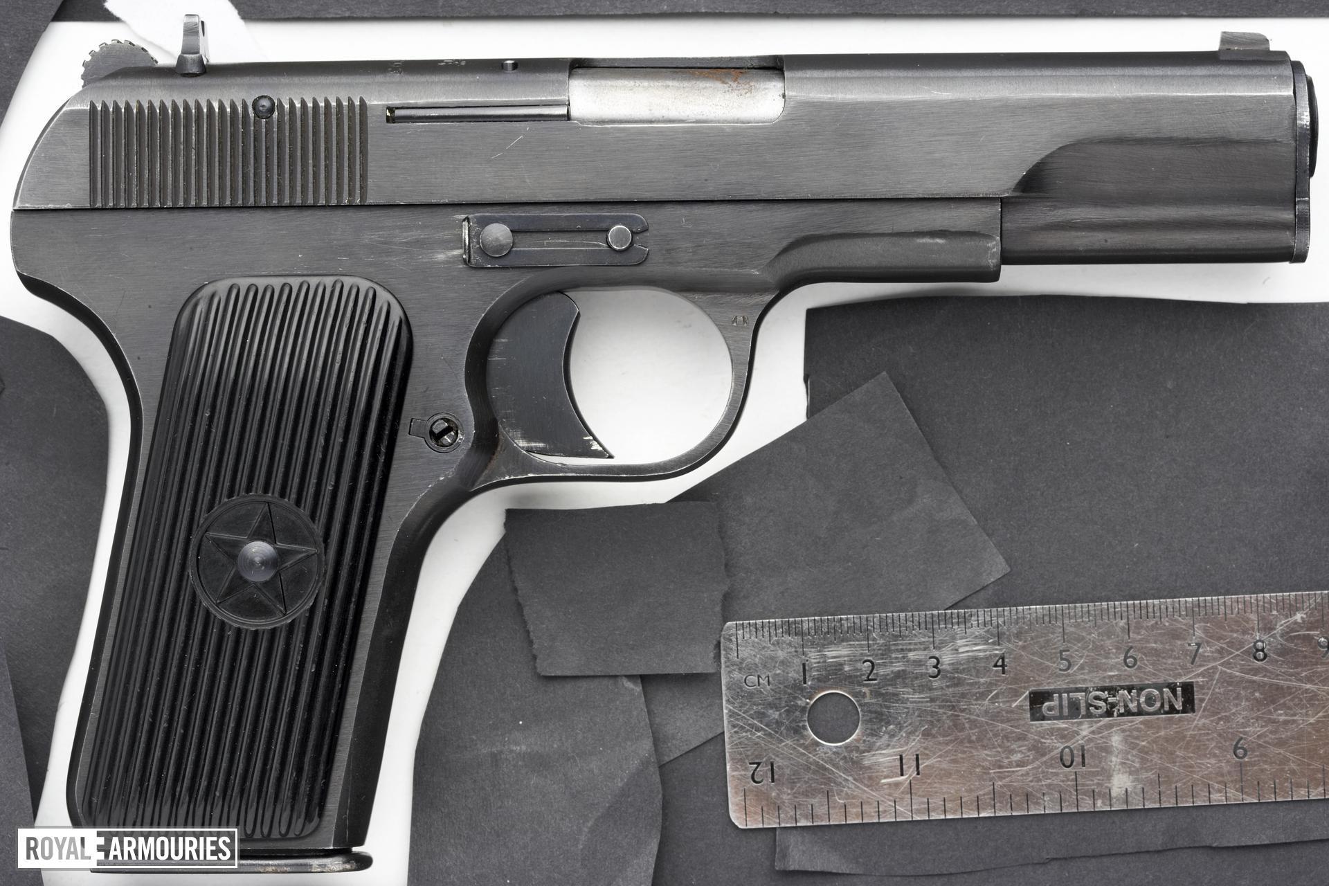 Centrefire self-loading pistol - Type 54 (Tokarev)