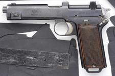 Thumbnail image of Steyr Hahn Model 1912 pistol, Austria