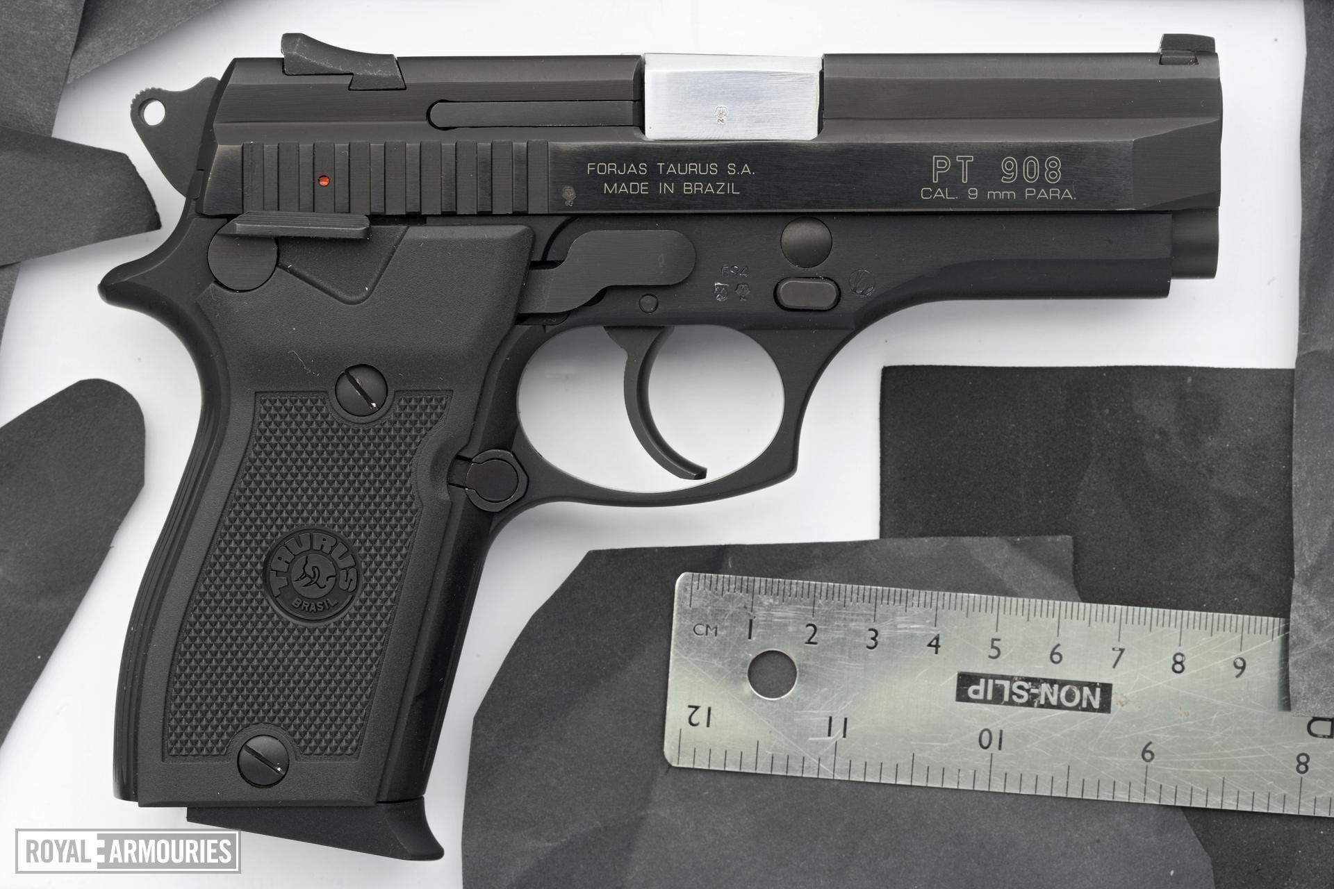 Centrefire self-loading pistol - Taurus Model PT908