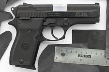Thumbnail image of Centrefire self-loading pistol - Taurus Model PT908