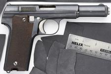 Thumbnail image of Centrefire self-loading pistol - Astra Model 600 Chilian Air Force issue