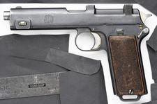 Thumbnail image of Centrefire self-loading pistol - Steyr Hahn Model 1911