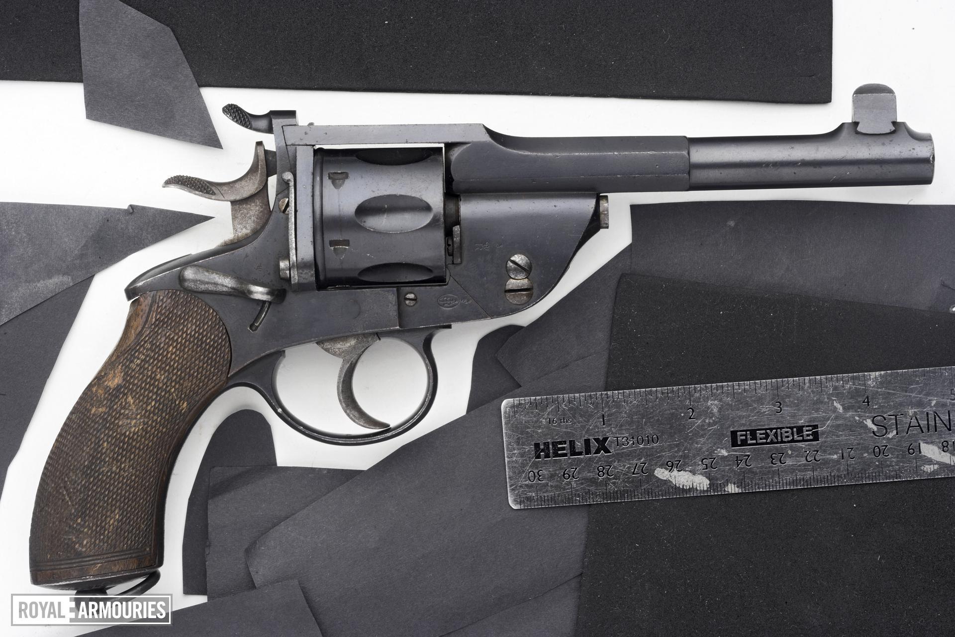 Centrefire six-shot revolver - Naval Model 1891