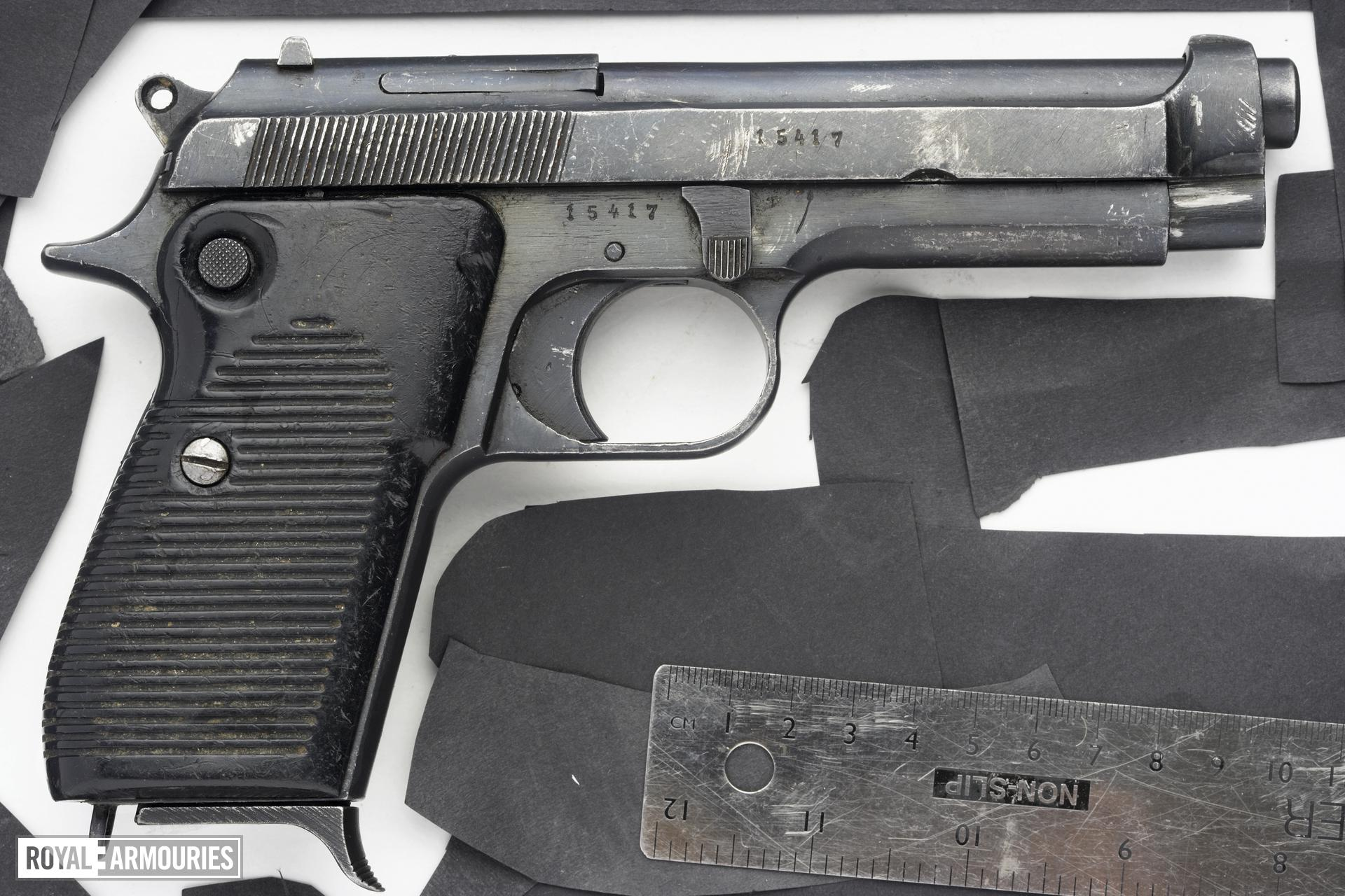 Centrefire self-loading pistol - Beretta Model 1951E, copy