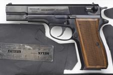 Thumbnail image of Centrefire self-loading pistol - Feg Model P9R Hi-Power copy