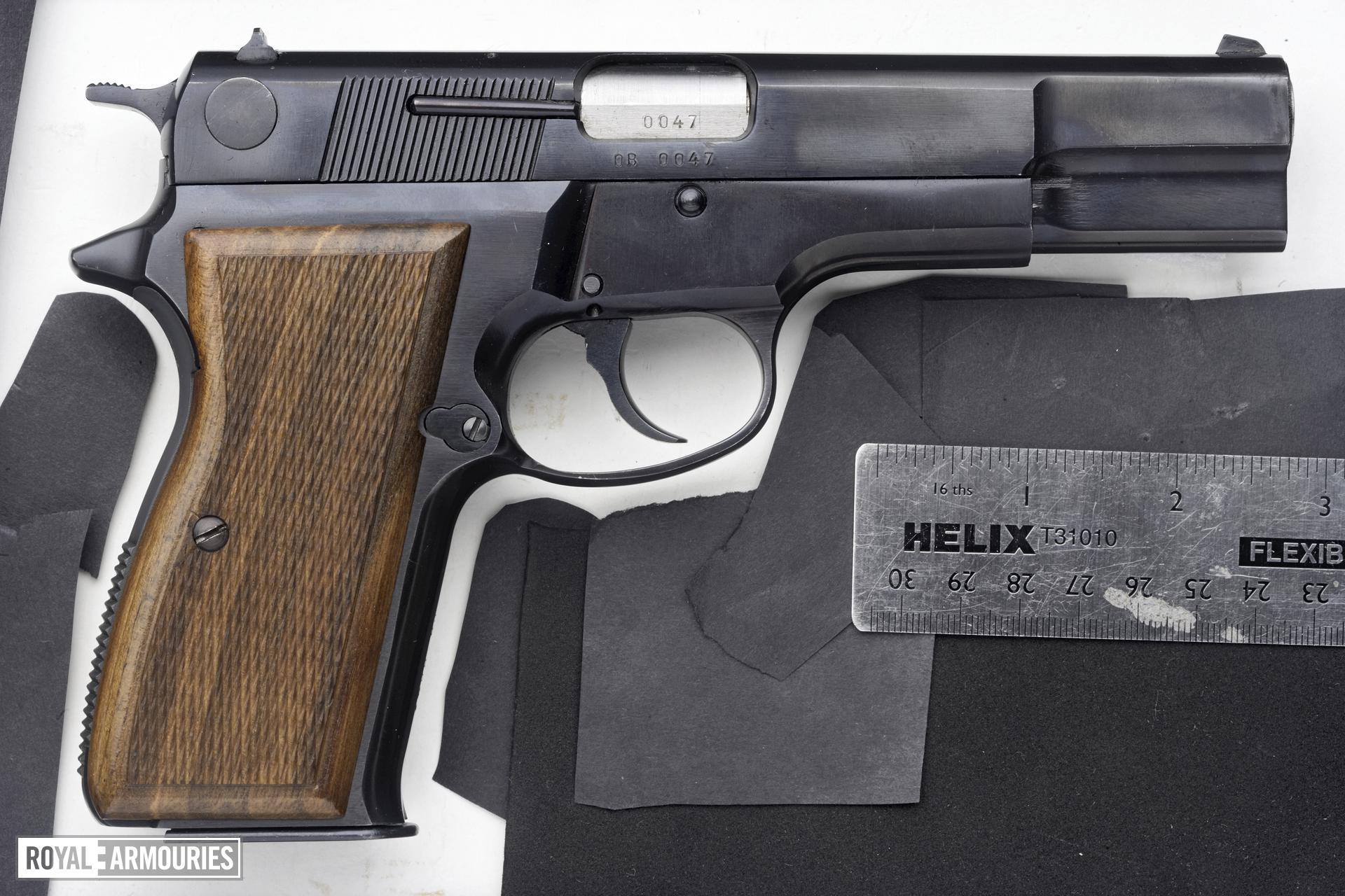 Centrefire self-loading pistol - Feg Model P9R