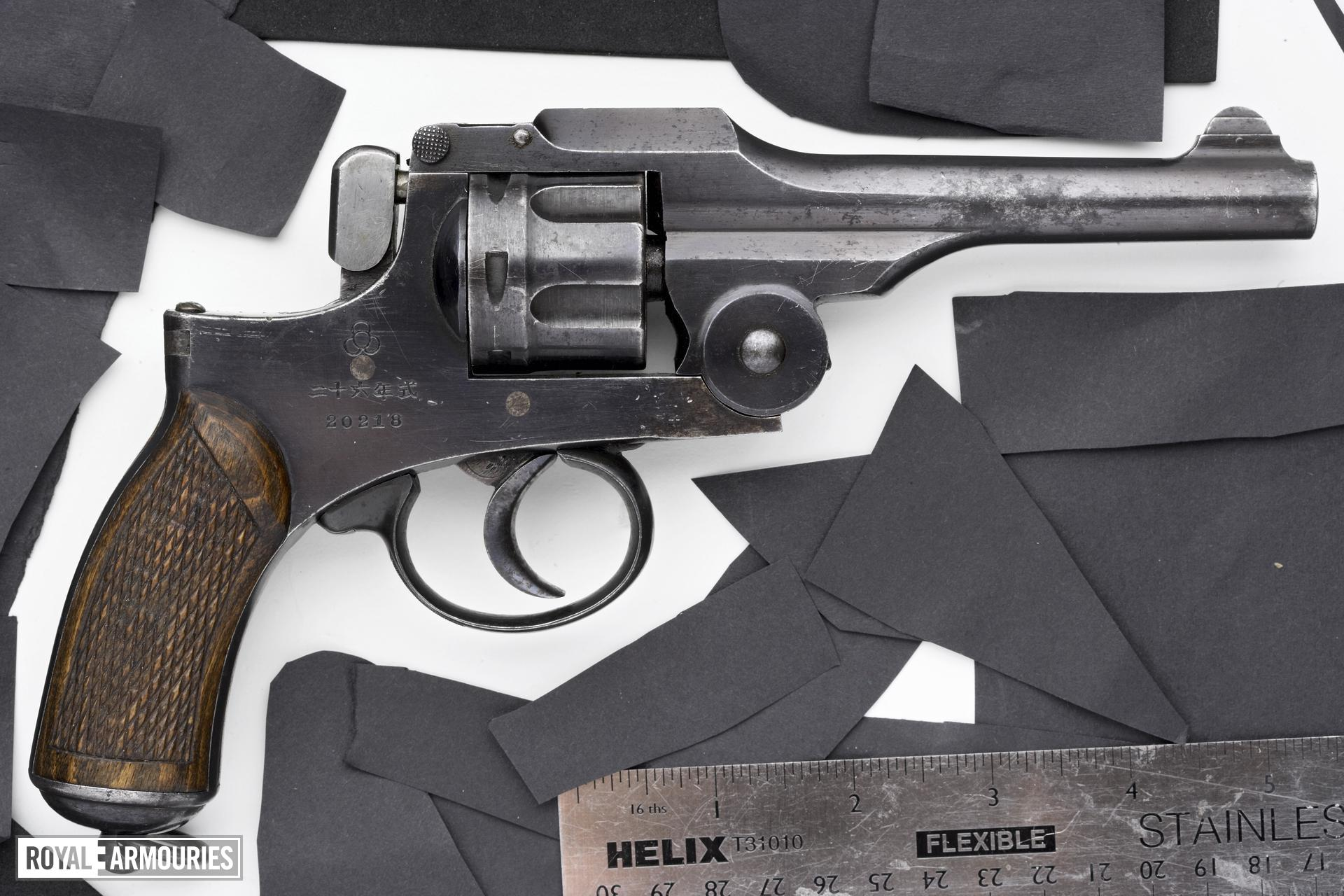 Centrefire six-shot revolver - Ordnance Type 26