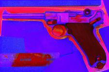 Thumbnail image of Centrefire self-loading pistol - Luger Military Model 1906