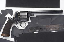 Thumbnail image of Percussion five-shot revolver - Adams Model 1851 By Adams and Deane.