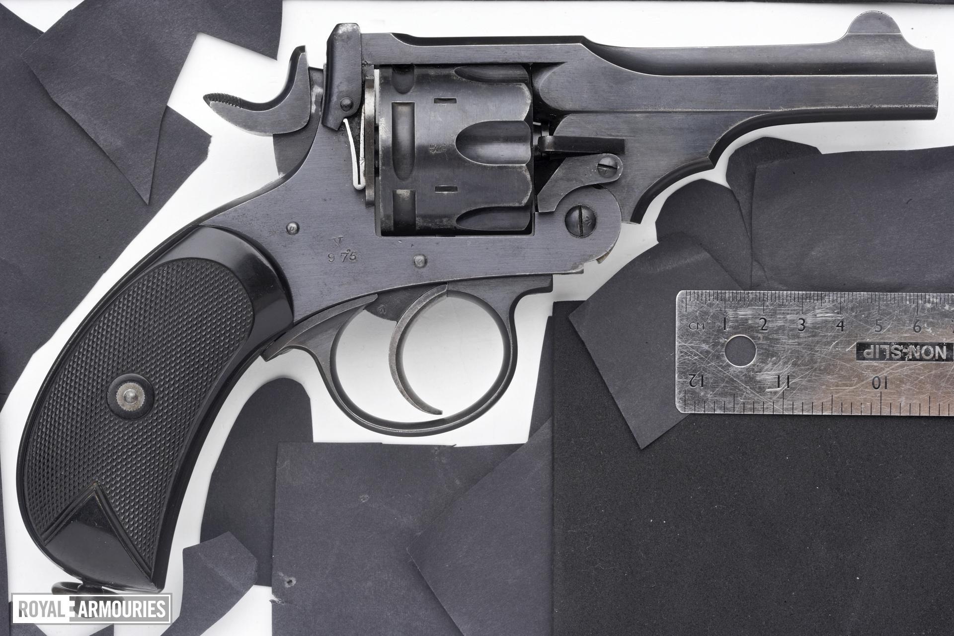 Centrefire six-shot revolver - Webley Mk.VI