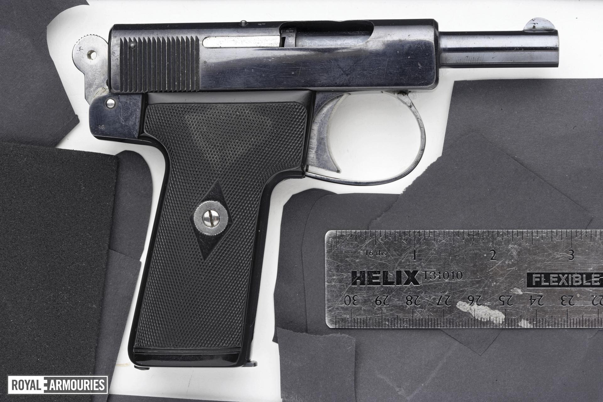 Centrefire self-loading pistol - Webley Pocket Model 1910