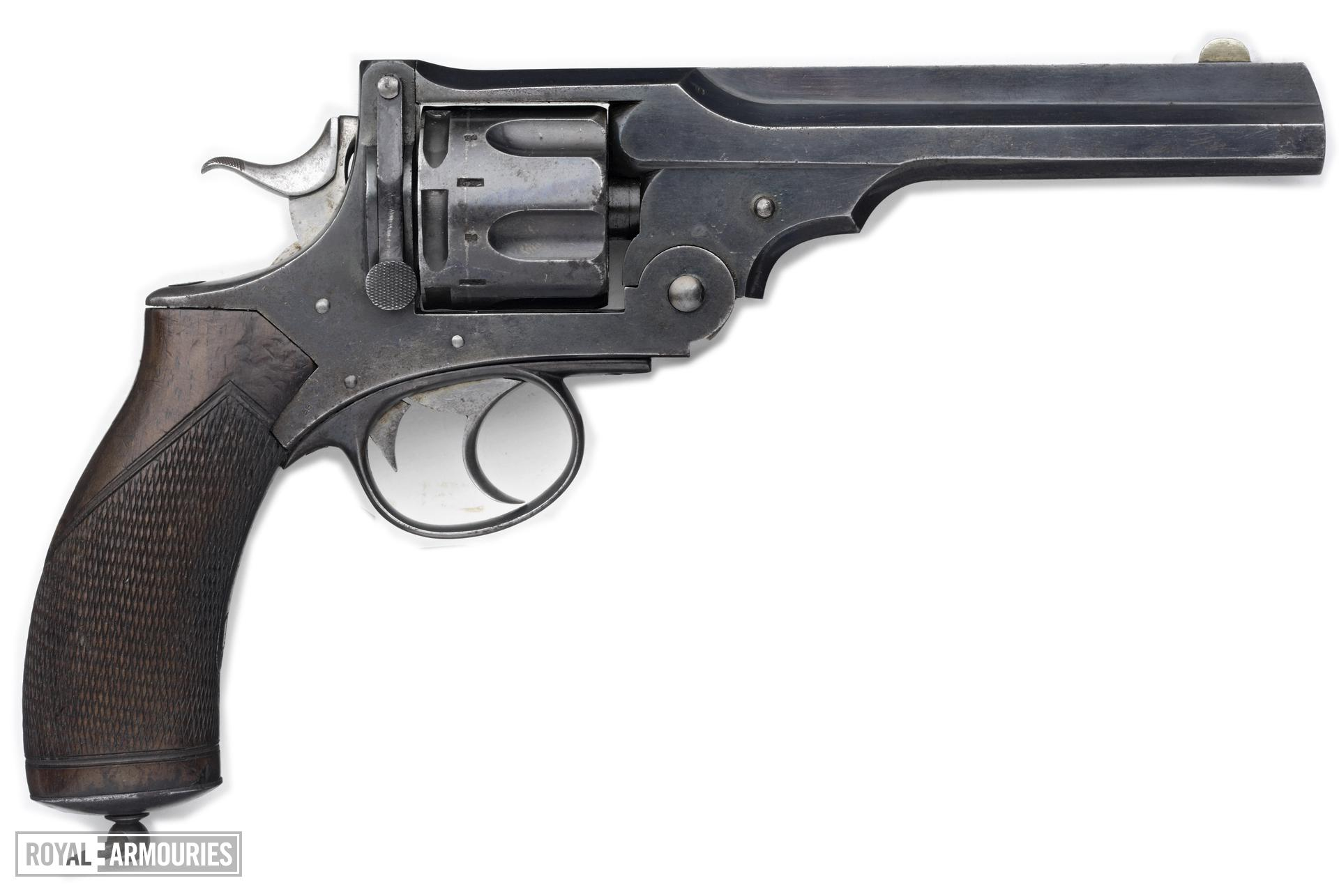 Centrefire six-shot revolver - Webley No.4 Retailed by Philip and Son, Birmingham.