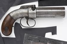 Thumbnail image of Percussion pepperbox pistol - Allen and Thurber