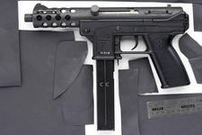 Thumbnail image of Centrefire self-loading submachine gun - Interdynamic Model KG-9 Semi automatic only variant.