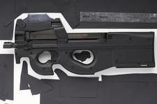 Thumbnail image of Centrefire automatic submachine gun - FN P90 Personal Defence Weapon (PDW)