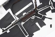 Thumbnail image of Centrefire automatic submachine gun - MP40 By Erma