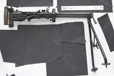 Thumbnail image of Twin Villar Perosa delayed blowback operated double barrelled submachine gun, various manufacturers in Italy and Canada