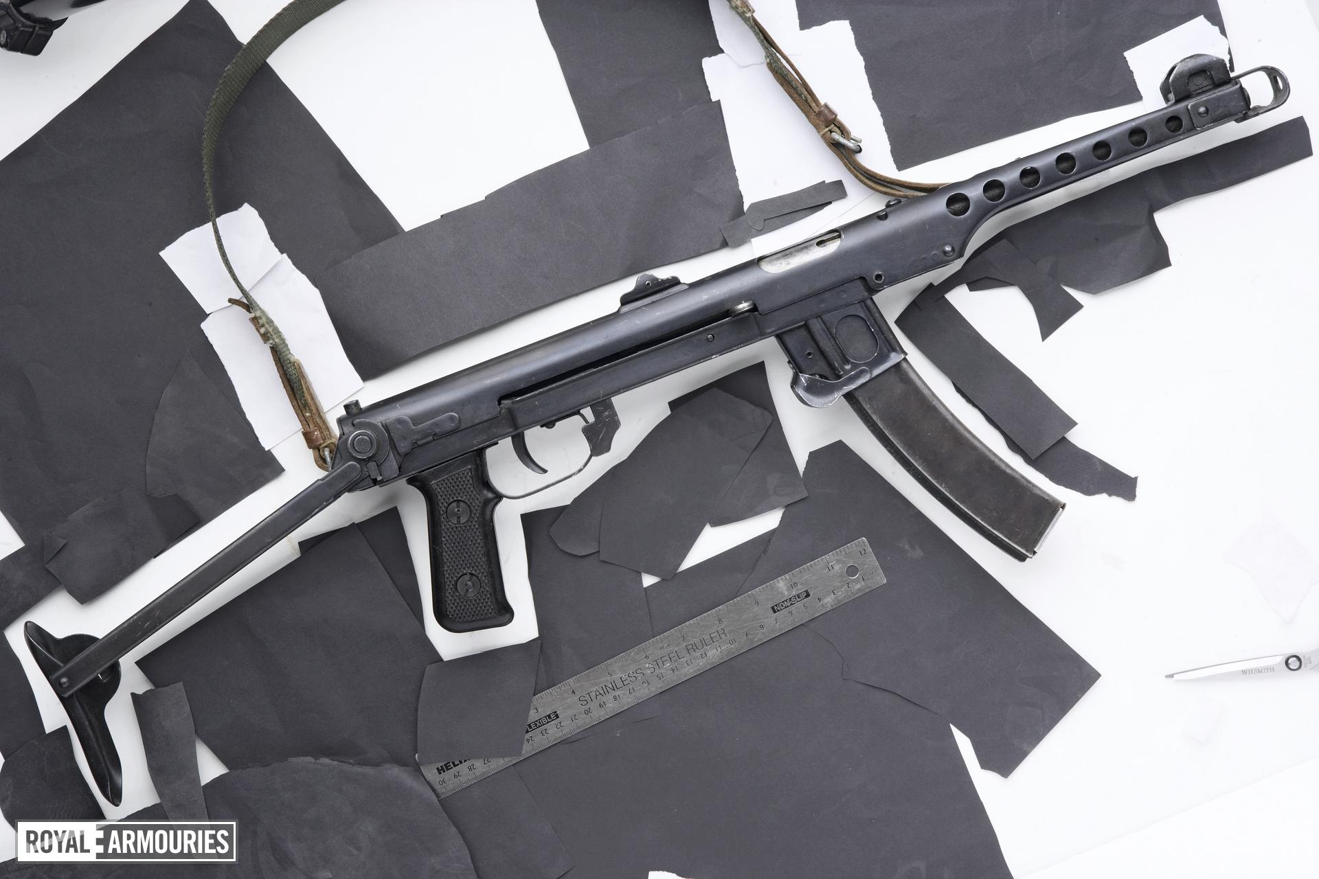Centrefire self-loading pistol - Sudayev PPS43
