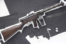 Thumbnail image of Centrefire automatic submachine gun - Suomi KP M31 Early example.
