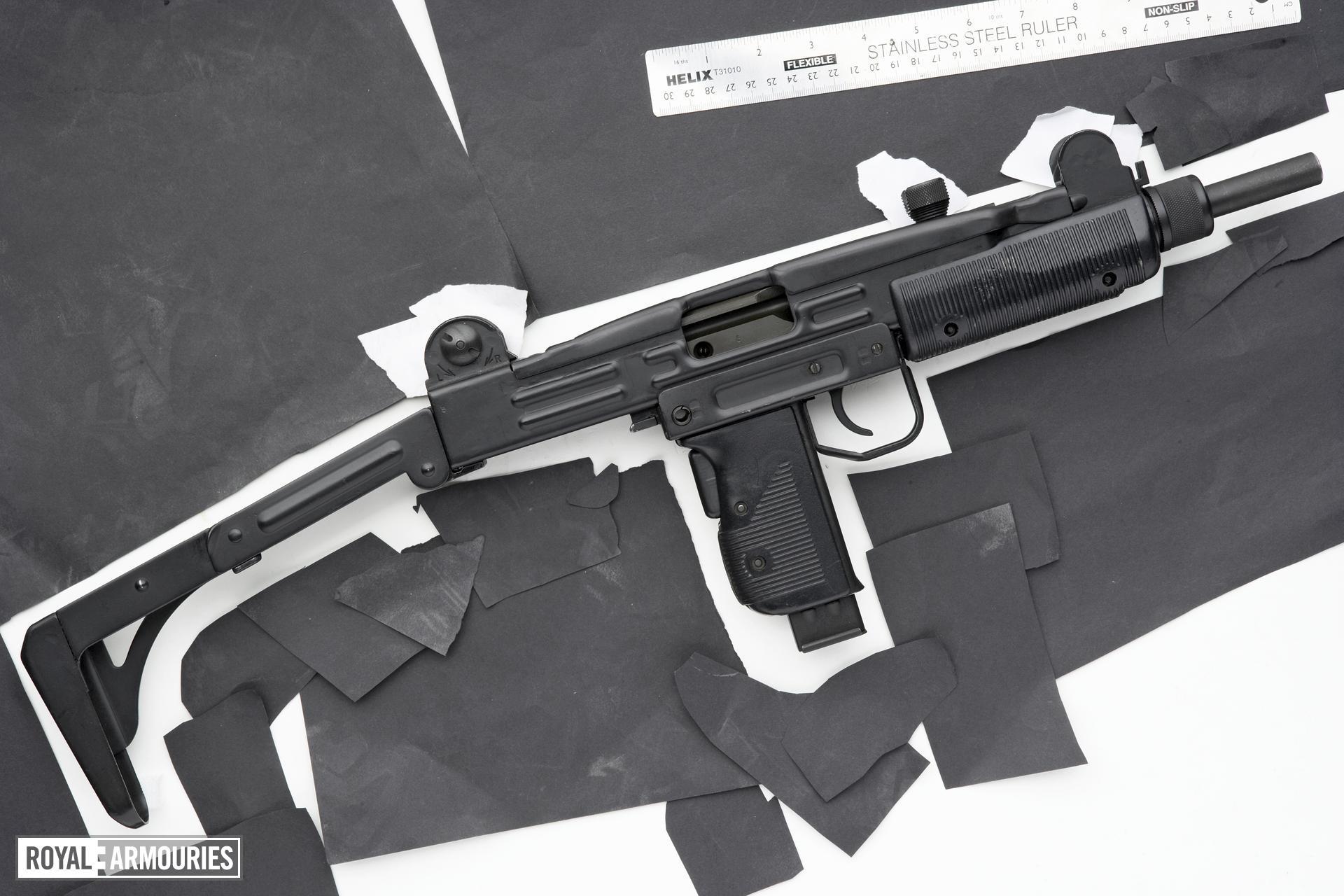 Centrefire automatic submachine gun - Uzi Semi Auto (?)