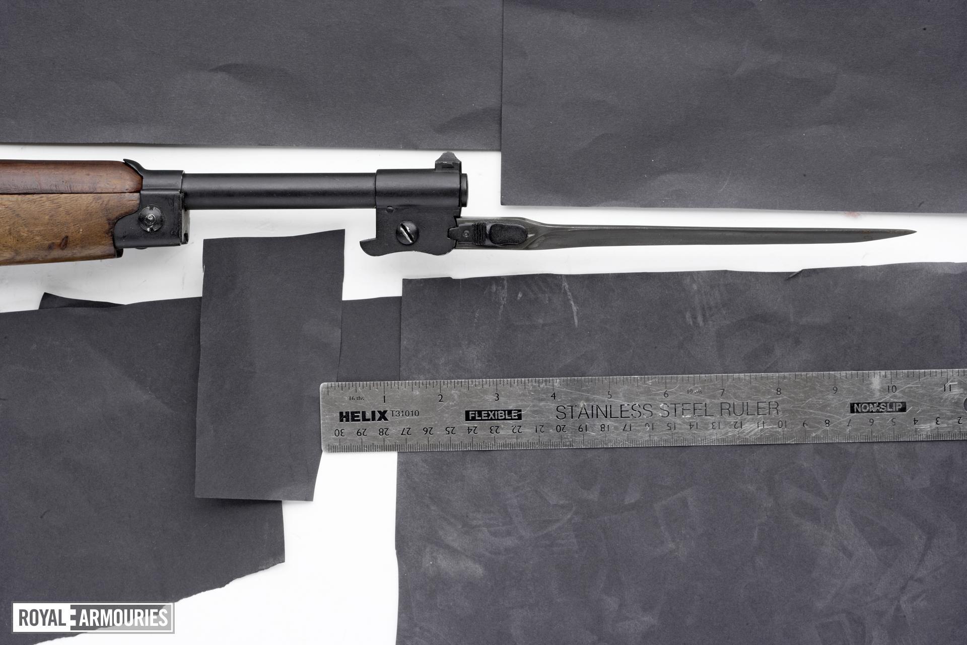 Centrefire automatic submachine gun - Beretta Mod 1918/30