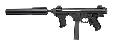 Thumbnail image of Centrefire automatic submachine gun - Beretta Model 12S with silencer